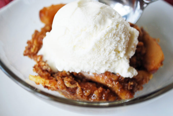 Amazing Healthier Apple Crisp Recipe