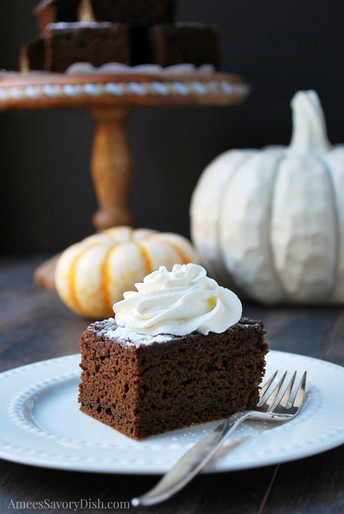 Delicious Pumpkin Chocolate Cake