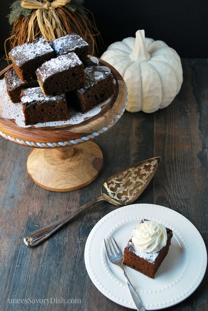 Gluten Free Pumpkin Chocolate Cake recipe