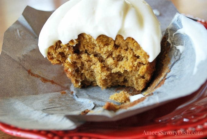 Heavenly Pumpkin Cupcakes