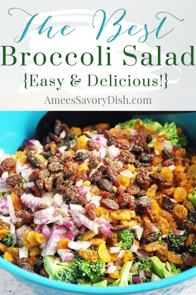 The Best easy broccoli salad recipe