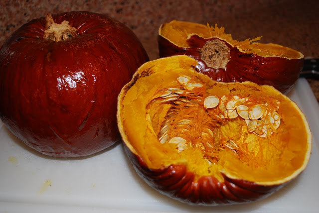 roasted pumpkins