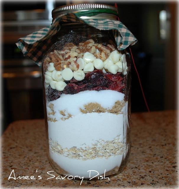 cranberry jar cookies