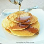Clean Eating Buttermilk Pancakes provide a healthy source of carbohydrates and great fuel to start your day!