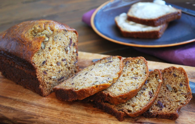 Moist and delicious date nut bread recipe