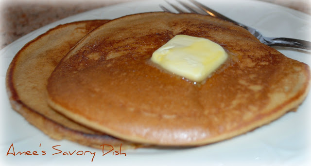 Buttermilk Pancakes ~A clean eating recipe