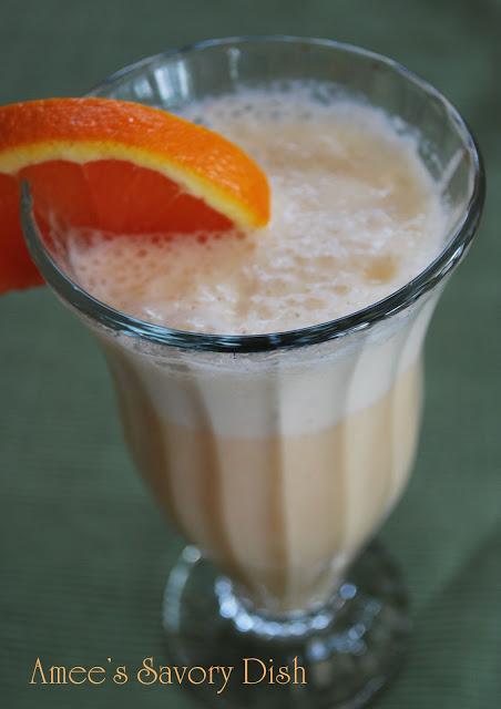 Orange Creamsicle Protein Shake