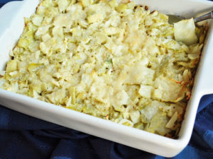 Baked Keto Cabbage Casserole recipe