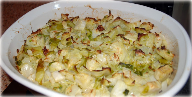 Project 2011-Vintage Recipes February recipe: Ladies' Cabbage