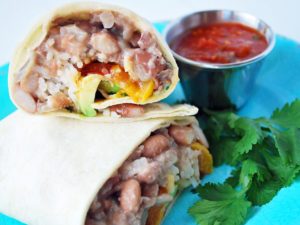 Homemade pinto bean recipe for easy bean burritos