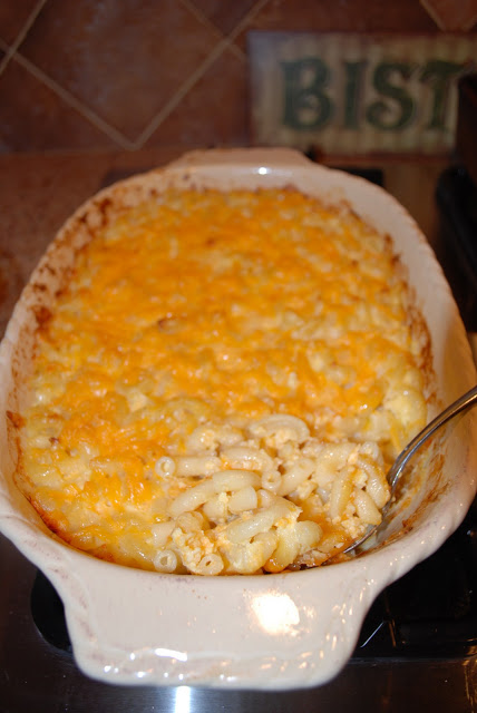 Southern Style Mac and Cheese Lightened Up