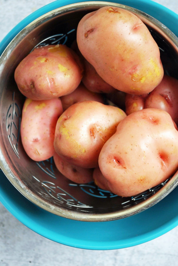 boiled potatoes for southern potato salad