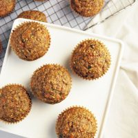 everything zucchini bran muffins