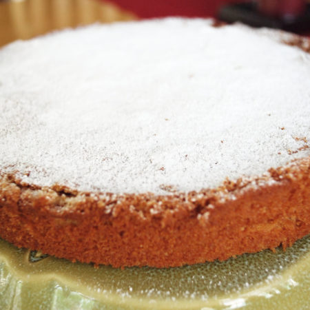 Queen cake and easy orange butter cake recipe