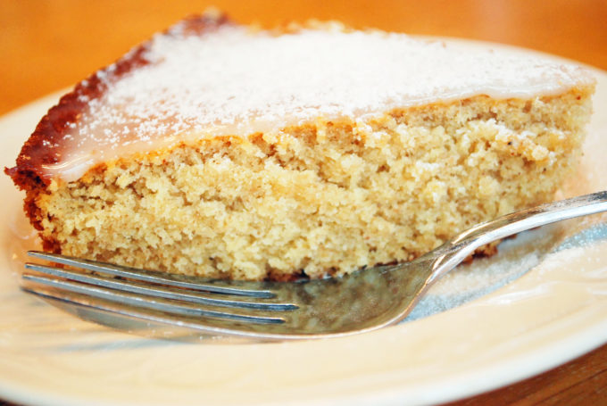 glazed orange butter cake aka Queen cake