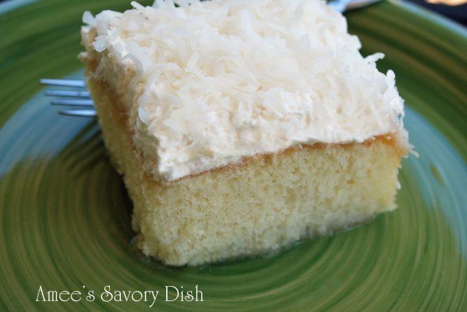 mimi's moist coconut cake