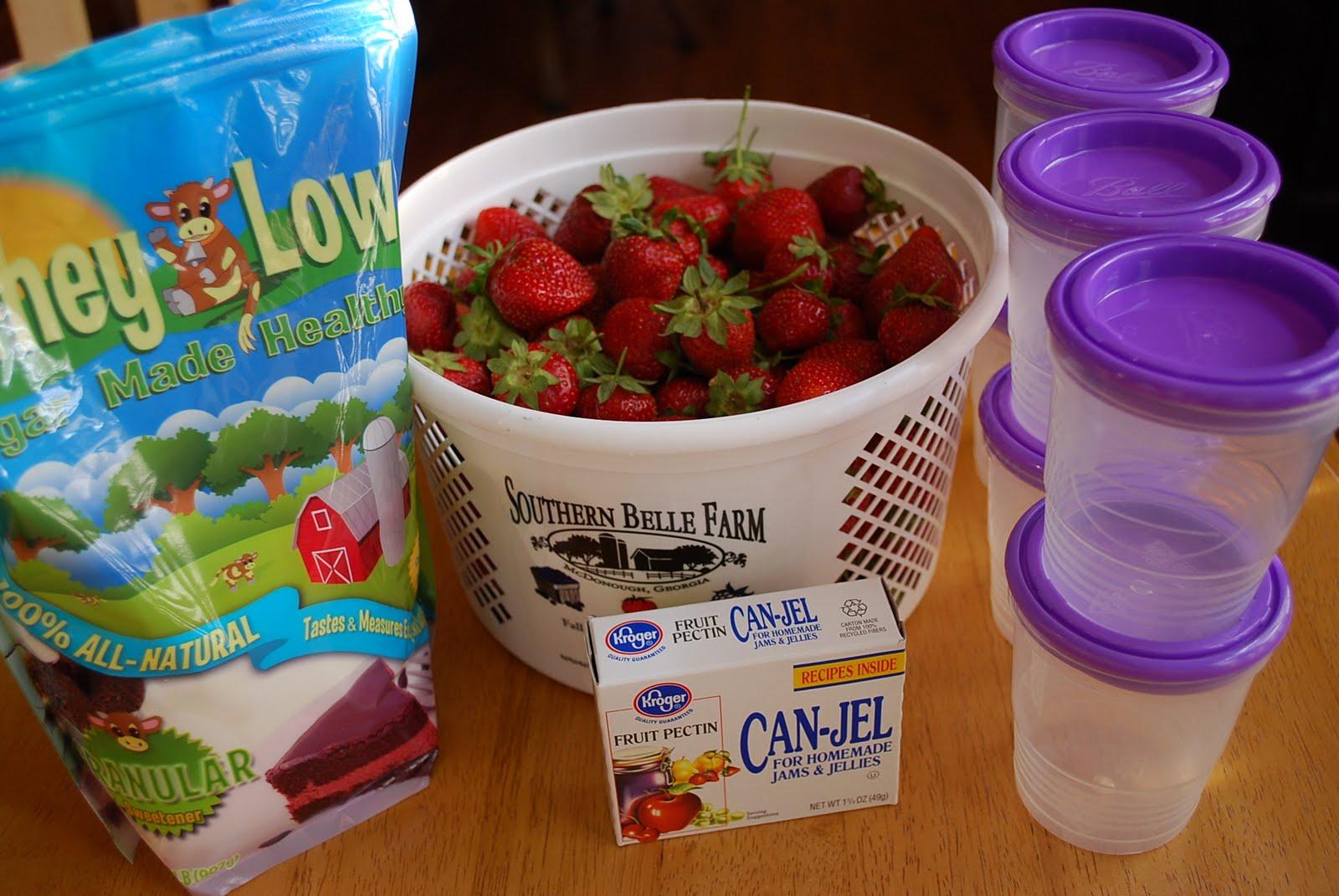 Homemade Strawberry Freezer Jam - Amee's Savory Dish