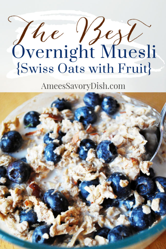 These easy and delicious swiss oats {aka overnight muesli} are a breeze to throw together and a healthy, hearty breakfast. Add eggs or protein powder for an added boost.