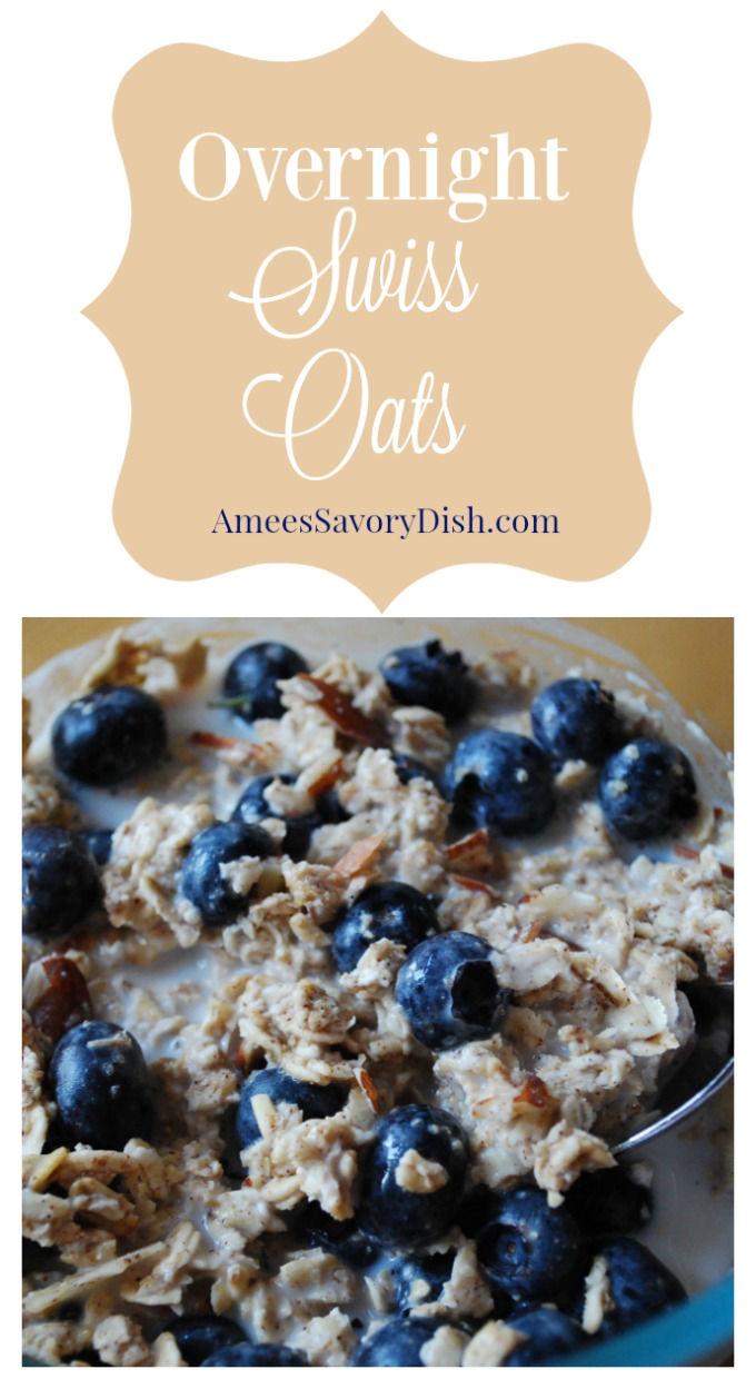 Overnight Swiss Oats n' Fruit