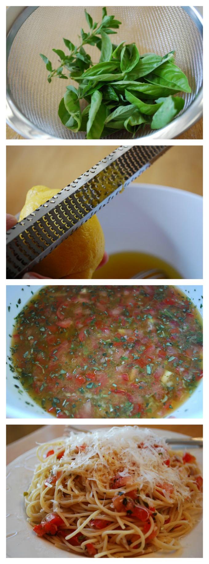 Amazing Tomato Vinaigrette For Pasta
