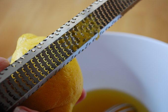 lemon zest for tomato vinaigrette pasta sauce