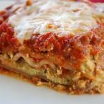 Meaty Pesto Lasagna