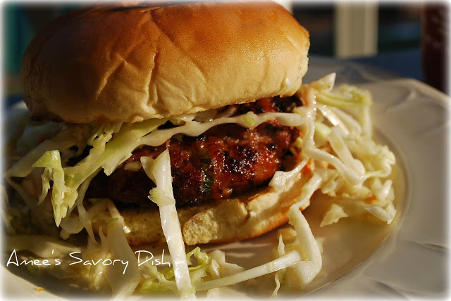 Asian-Style Pork Burgers