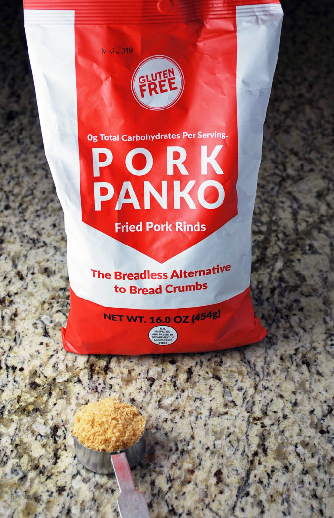 a package of pork panko