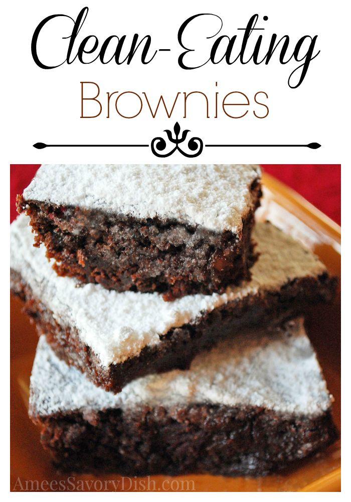 Clean Eating Brownies