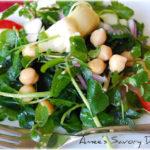chickpea artichoke salad