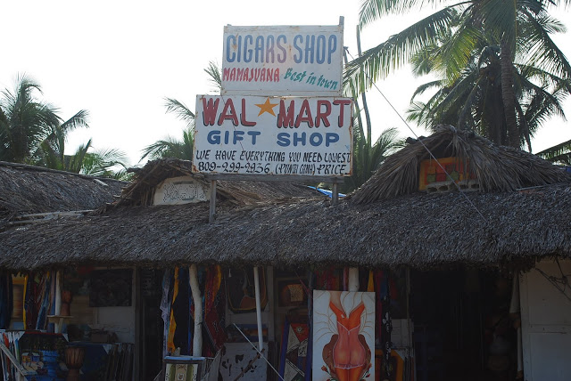 Wal Mart Gift Shop in Punta Cana
