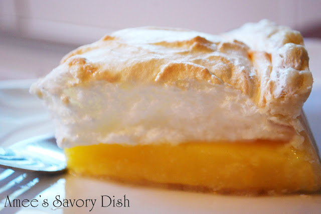 Orange Meringue Pie- Project Vintage Recipes August recipe