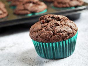 Double Chocolate Gluten-Free Bran Muffins