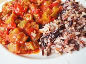 Easy Okra Stew recipe