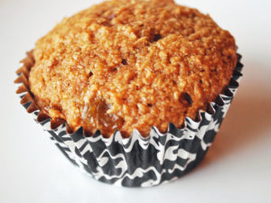 Orange Bran Flax Muffin recipe