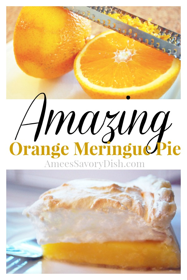 Made with fresh orange juice and zest, orange meringue pie is an amazing twist on classic lemon meringue pie.