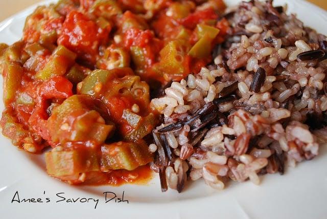 Okra and Tomato Stew