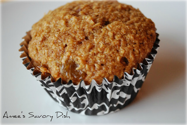 orange flax muffin