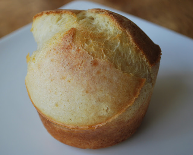 Popover on a plate