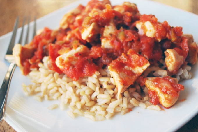 Salsa Chicken and Rice makes a fast and easy weeknight meal