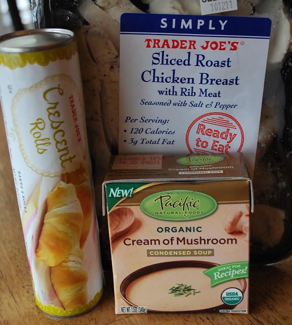 almond chicken casserole ingredients