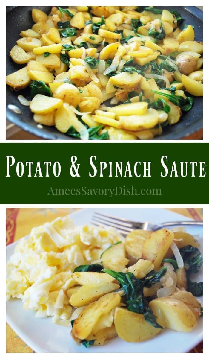 Potato and Spinach Saute recipe