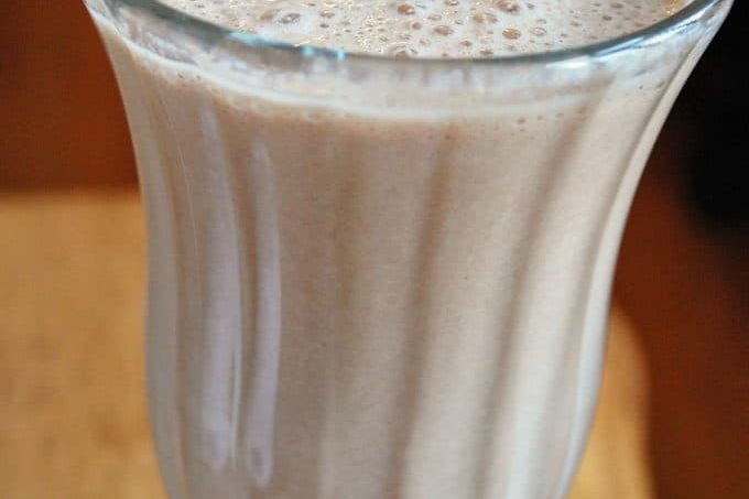 Natural and Delicious protein shake