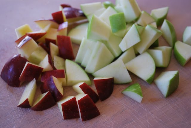 apples for holiday sangria