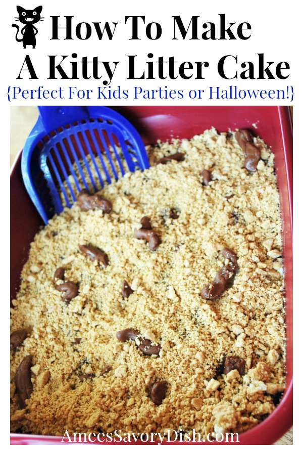 Tasty Kitty Litter Cake Recipe Amee S Savory Dish
