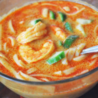 How to make Thai Coconut Curry Soup with Shrimp