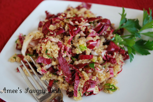 Quinoa Salad with Dried Cranberries