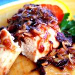 The best cranberry chicken recipe with orange marmalade