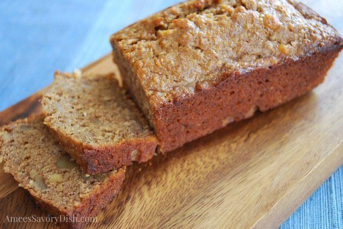 Moist Oat Flour Banana Bread Recipe