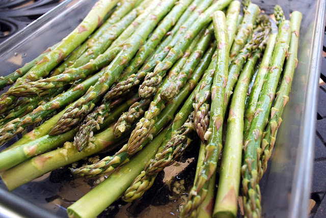 Lemon Balsamic Grilled Asparagus recipe